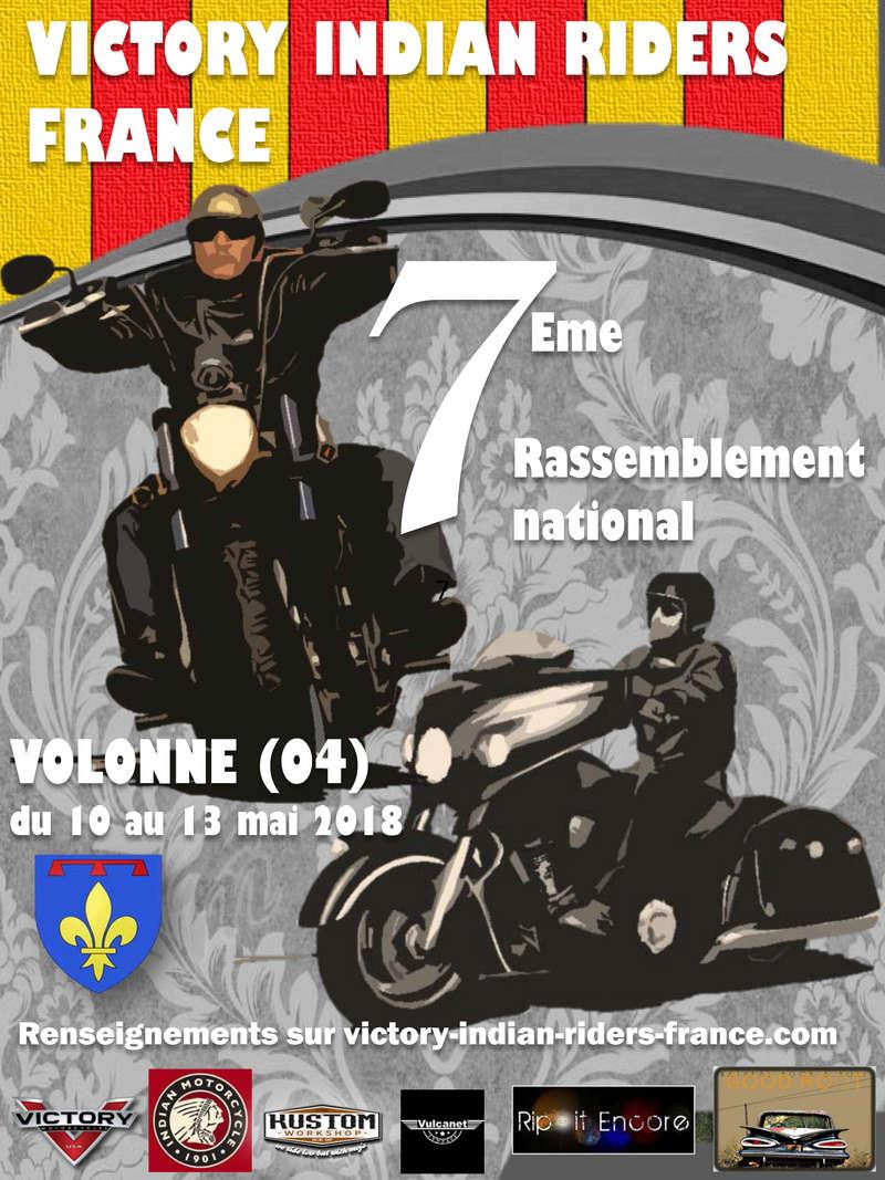 7 ème rassemblement national  (04) Volonne Affich10
