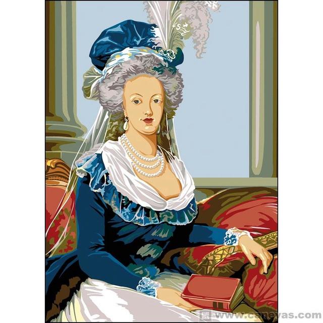 Marie-Antoinette au livre en robe bleue - Page 3 I-gran10