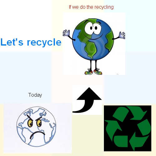 Let's recycle!!!! Anglai20