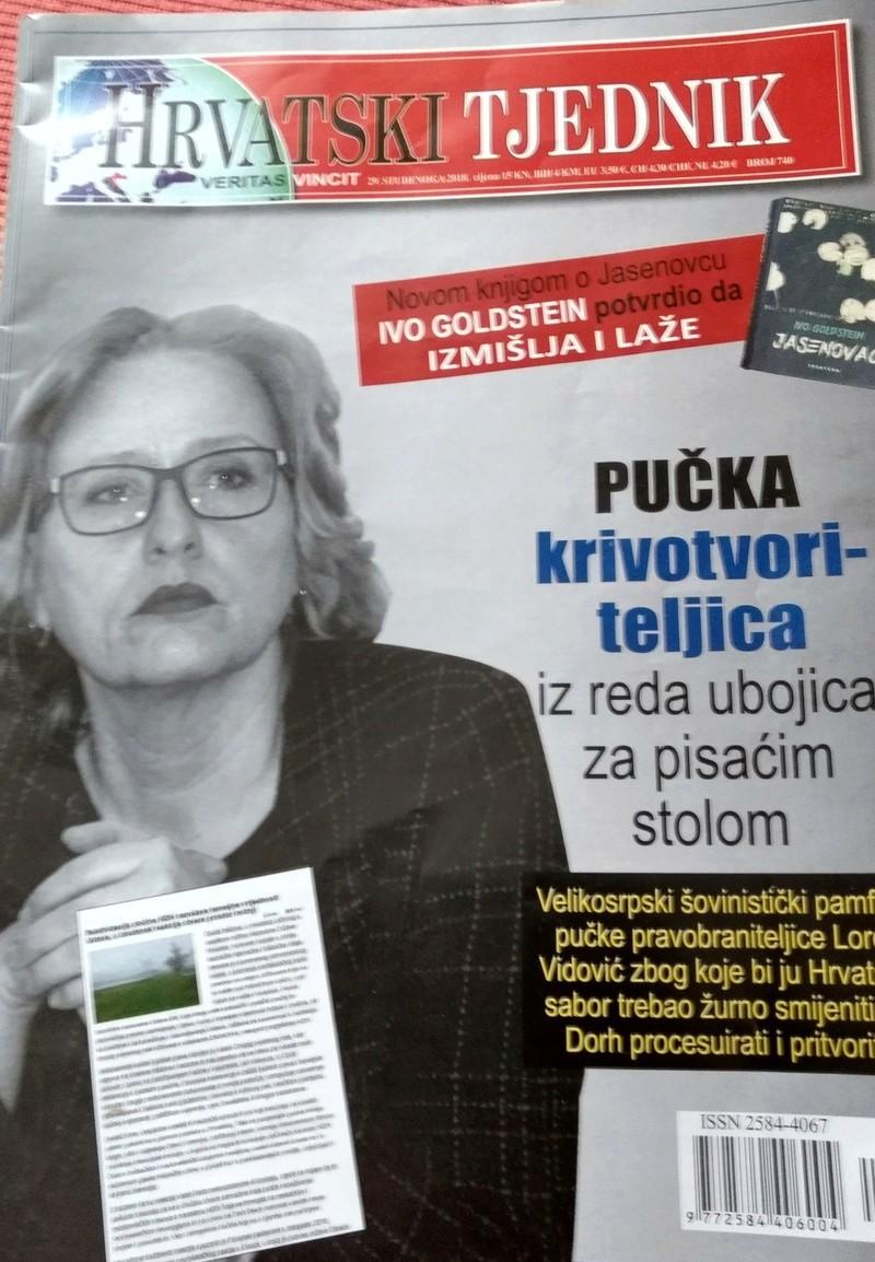 Lorom Vidović IZVJEŠTAJEM O NDH UZDRMALA STRUKTURE Lora10