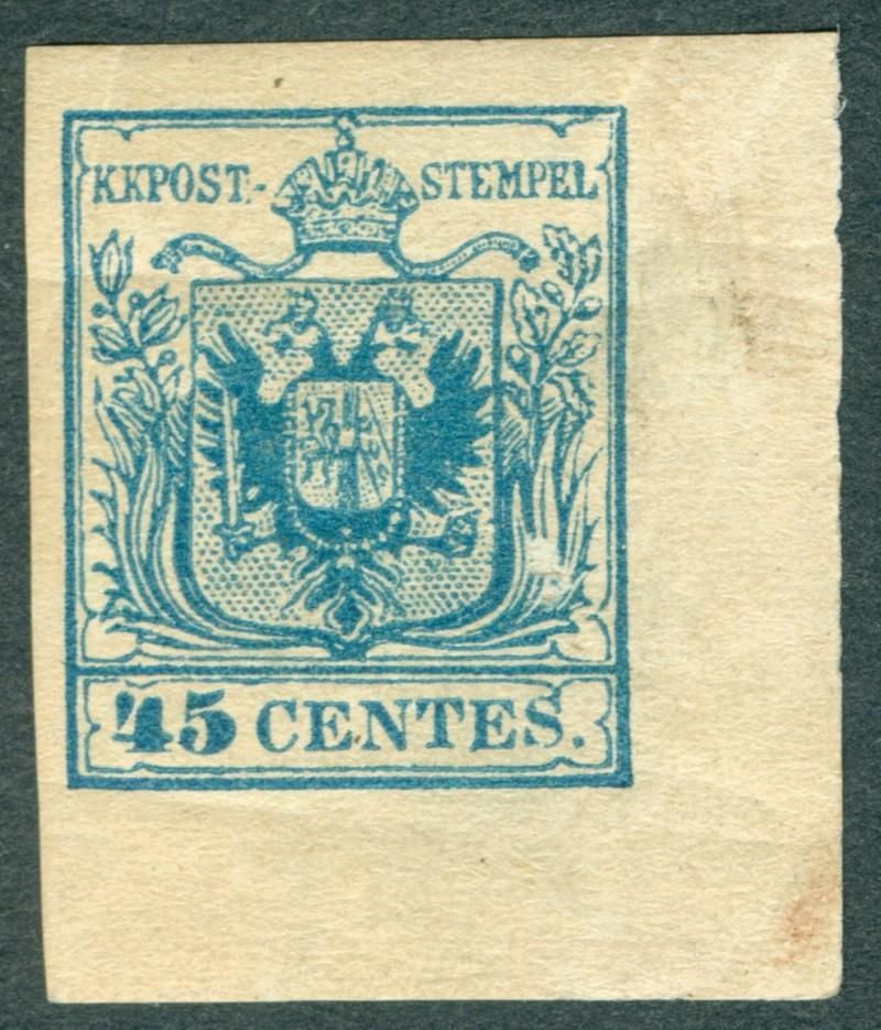 Briefmarken - Lombardei - Venetien 1850 - 1858 - Seite 5 1850_410