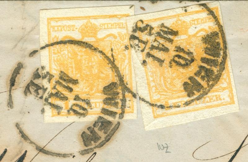 Die erste Österreichische Ausgabe 1850 - Seite 20 1853_o10