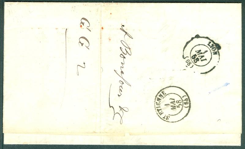 Briefmarken - Lombardei - Venetien 1850 - 1858 - Seite 5 1858_m11