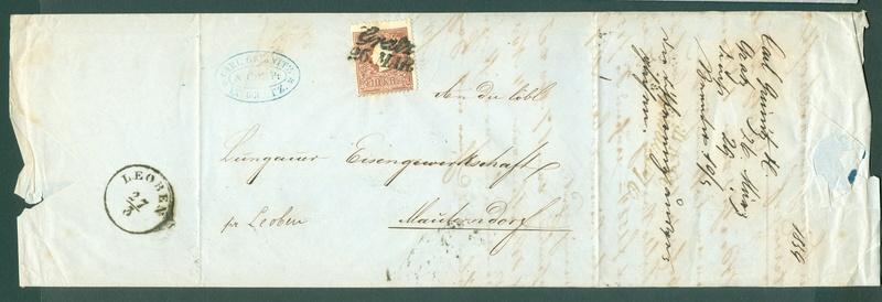 Die Freimarkenausgabe 1858 Type I und II - Seite 3 1859_g11