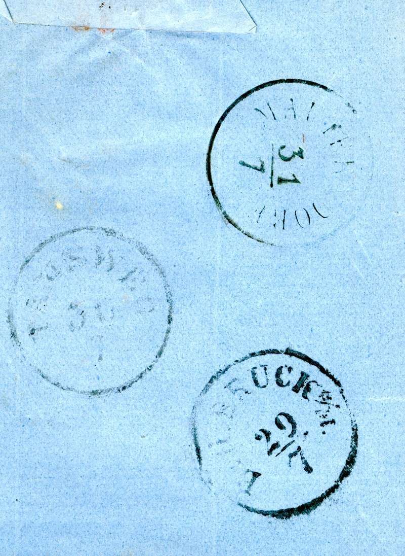 Die Freimarkenausgabe 1858 Type I und II - Seite 3 1860_w14