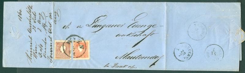 Die Freimarkenausgabe 1858 Type I und II - Seite 3 1860_w15