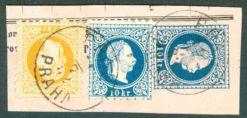 Freimarken-Ausgabe 1867 : Kopfbildnis Kaiser Franz Joseph I - Seite 19 1867_110