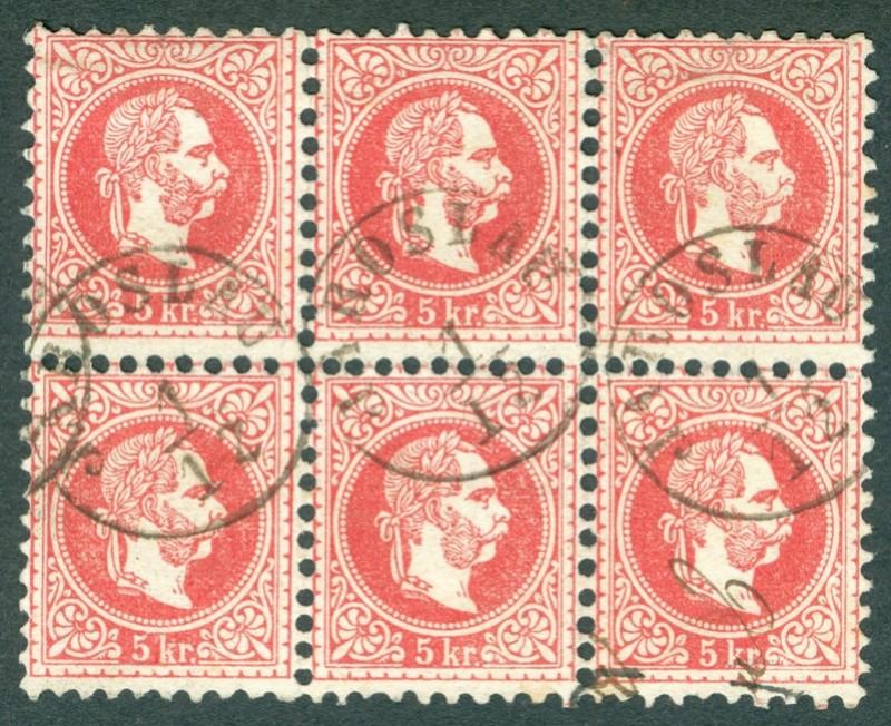 Freimarken-Ausgabe 1867 : Kopfbildnis Kaiser Franz Joseph I - Seite 18 1867_513