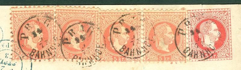Freimarken-Ausgabe 1867 : Kopfbildnis Kaiser Franz Joseph I - Seite 18 1873_p10