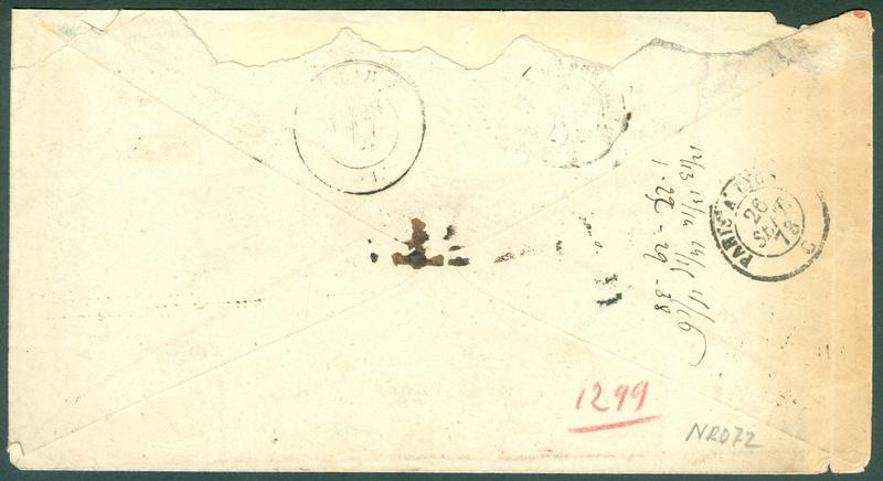 Freimarken-Ausgabe 1867 : Kopfbildnis Kaiser Franz Joseph I - Seite 18 1873_p11