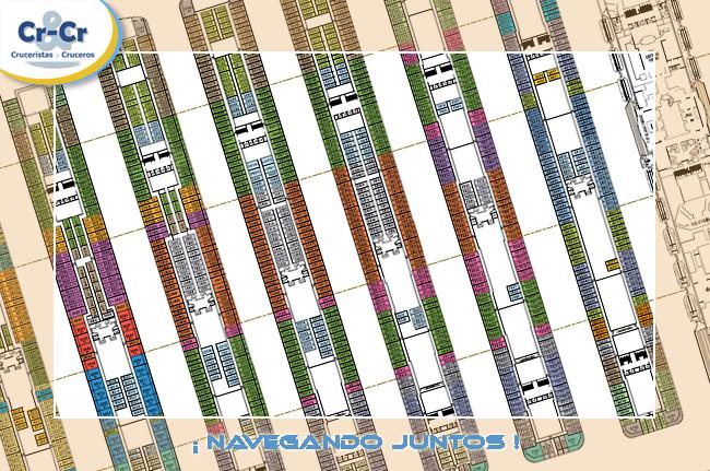 Pullmantur - Plano de cubiertas Monarch de Pullmantur Planos10