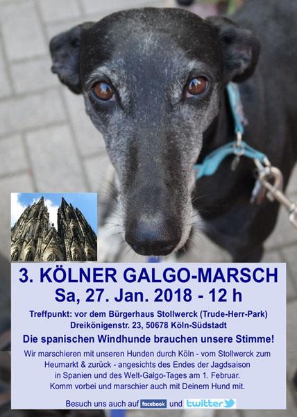 3ème marche pour les galgos à Cologne le 27 janvier 2018  Image10