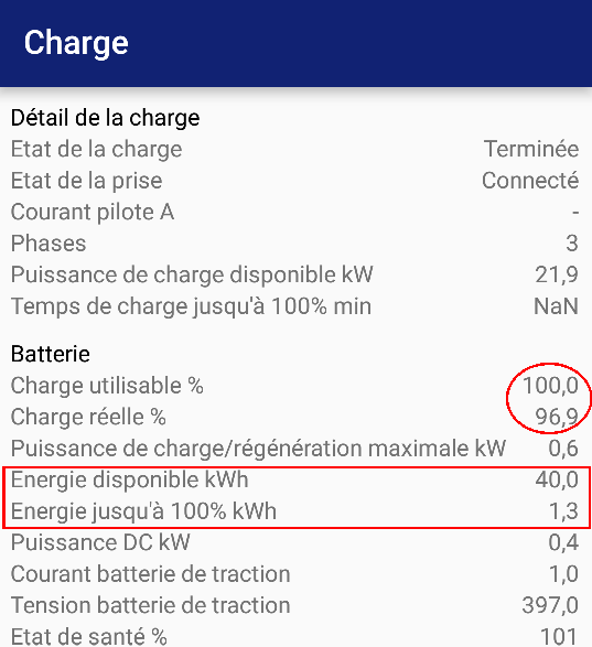 Capacité batterie ZE 40 - où est l'erreur ? - Page 3 Charge13
