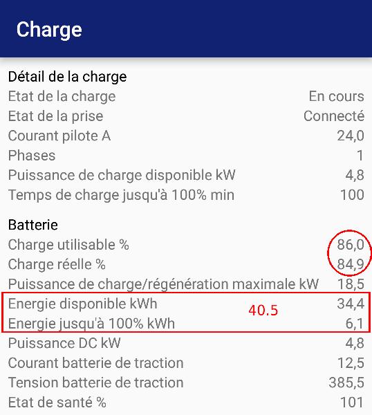Capacité batterie ZE 40 - où est l'erreur ? - Page 3 Charge15