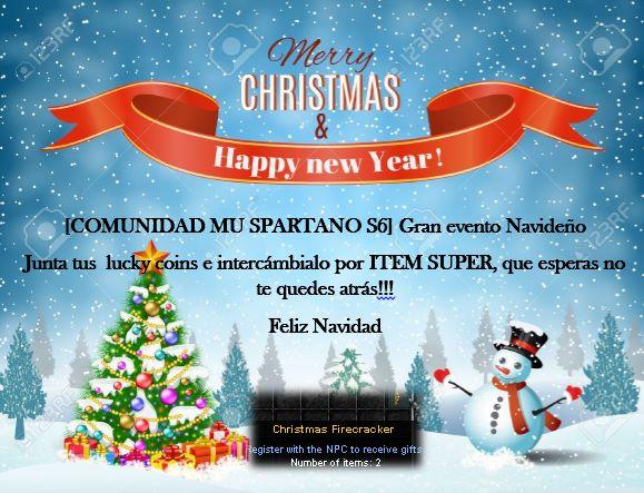 EVENTOS NAVIDEÑOS -MU SPARTANO SLOW 23659510