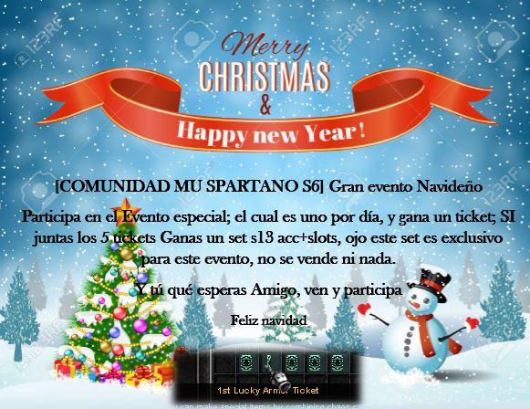 EVENTOS NAVIDEÑOS -MU SPARTANO SLOW 23795510