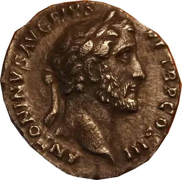 Confirmation id Antoninius         denier d'Antonin le Pieux  Anto_f10