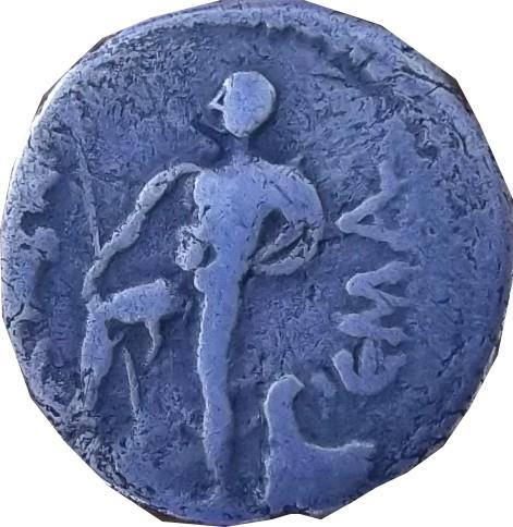 Identification romaine  Denier de la république Denier10