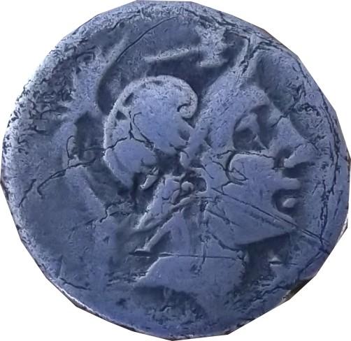 Identification romaine  Denier de la république Denier11