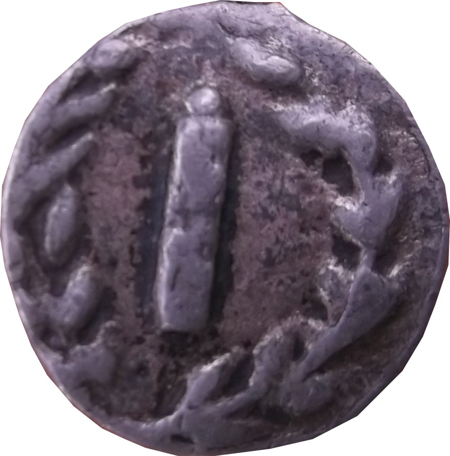 Identification romaine  Denier de la république Inc10