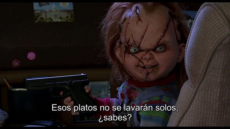 Chucky el Muñeco Diabolico BD Coleccion Codec H.264 Mega Vlcsna50