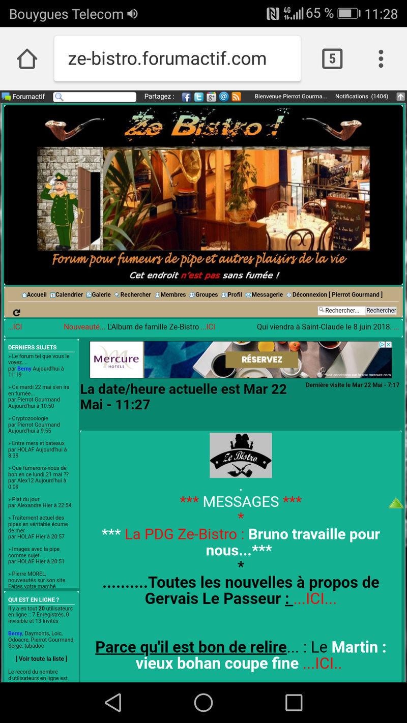 Le forum tel que vous le voyez.... Screen12