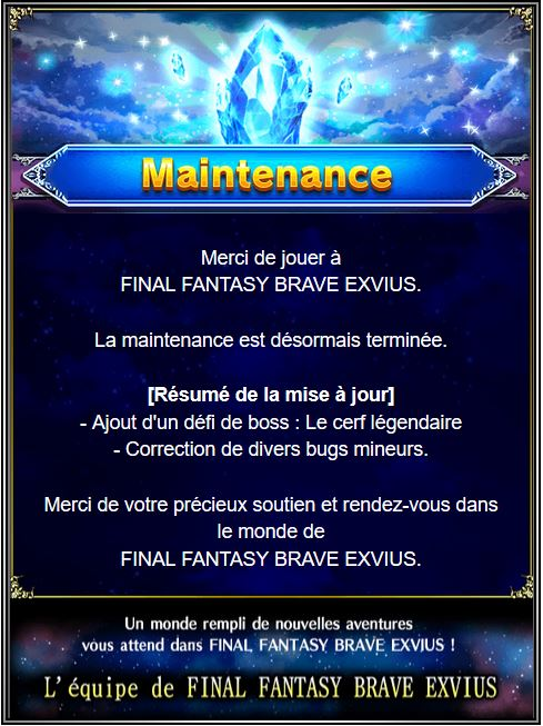 Maintenance 29/03 de 8H à 14H   Captur52