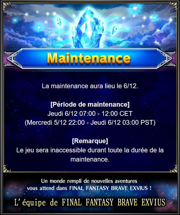 Maintenance 06/12 de 7H à 12H  Captur73