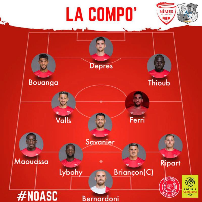 15ème journée de Ligue 1 Conforama : NO / AMIENS SC Img_8329
