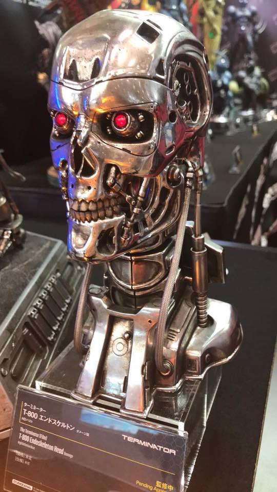 The Terminator - T800 - Buste Sqj6te10
