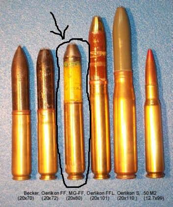 Douille munition allemande non identifiée Oe1b10