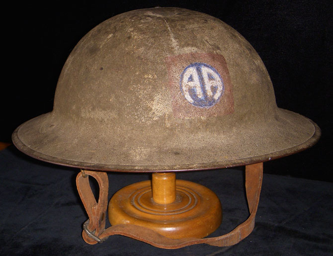casque  us ww1 Scwwi810