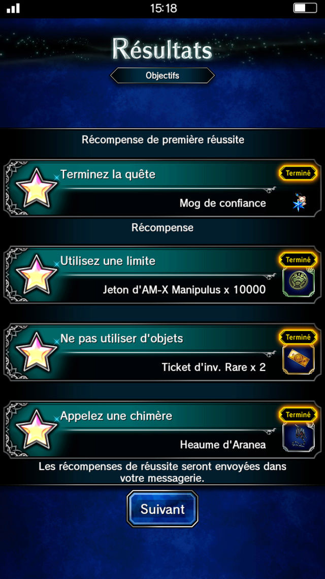 Evenement FFXV - Trial Aranea - Page 3 Screen12