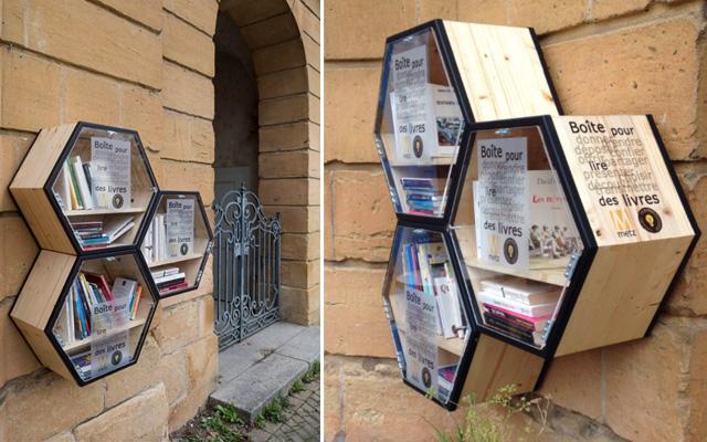 Boîtes à livres et compagnie - Page 2 Metzbo10
