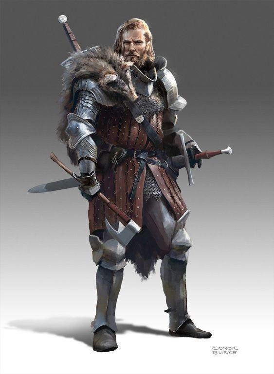Hector de la Haute Lame, Premier roi de Kavendish 824fb610