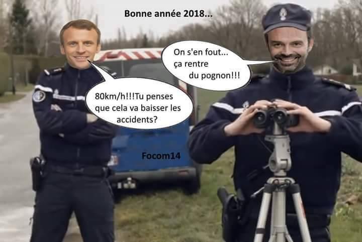 limitation de la vitesse à 80 Km/h sur route en 2018 - Page 6 Macron10