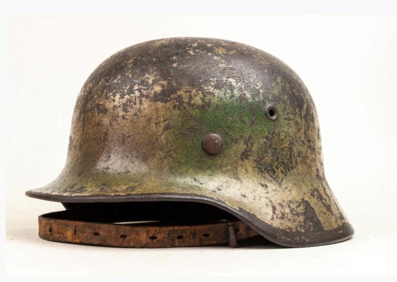 Identification casque M40 Kriegsmarine camo 20180212