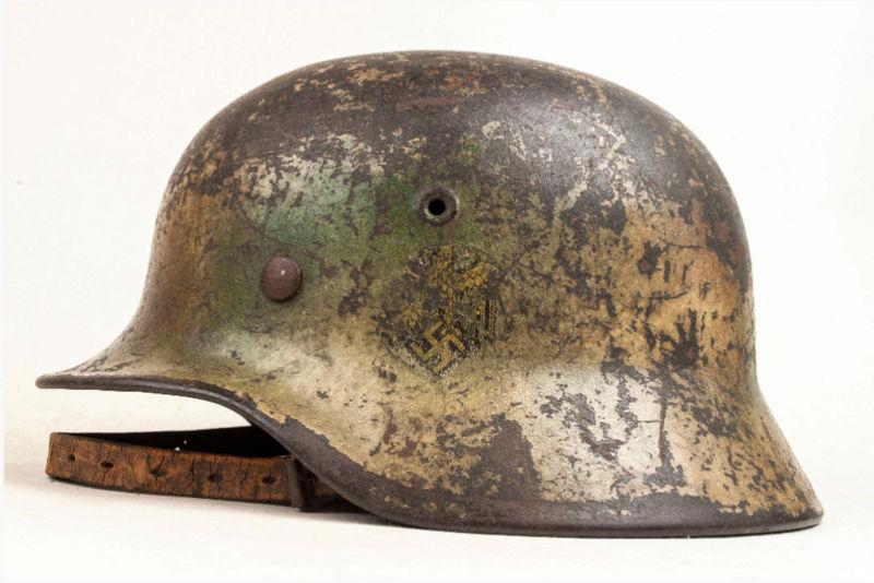 Identification casque M40 Kriegsmarine camo 20180213