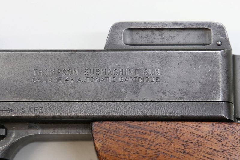 Pistolet-mitrailleur Thompson 1928 558a0310