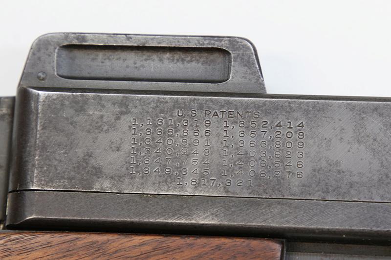 Pistolet-mitrailleur Thompson 1928 558a0311