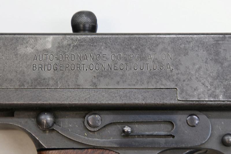 Pistolet-mitrailleur Thompson 1928 558a0313