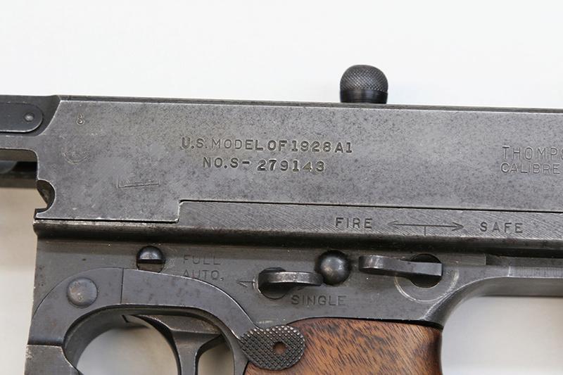 Pistolet-mitrailleur Thompson 1928 558a0314