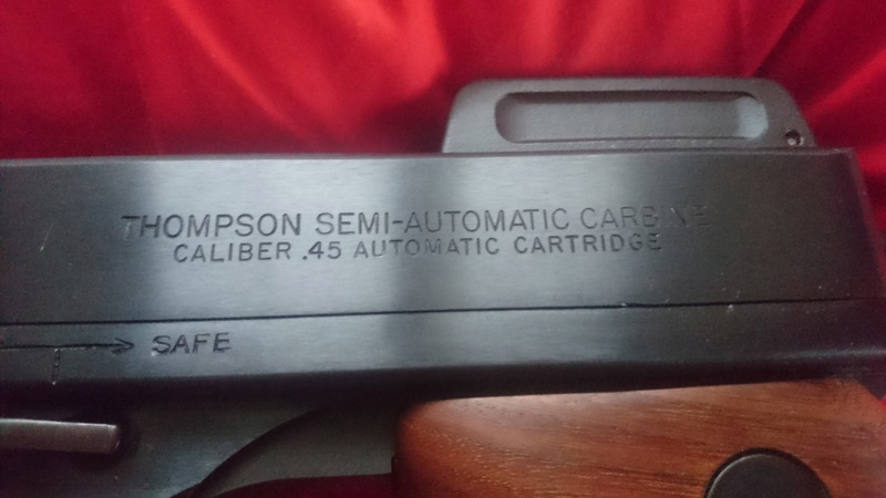 Pistolet mitrailleur Thompson 1927A1 Thumbn19