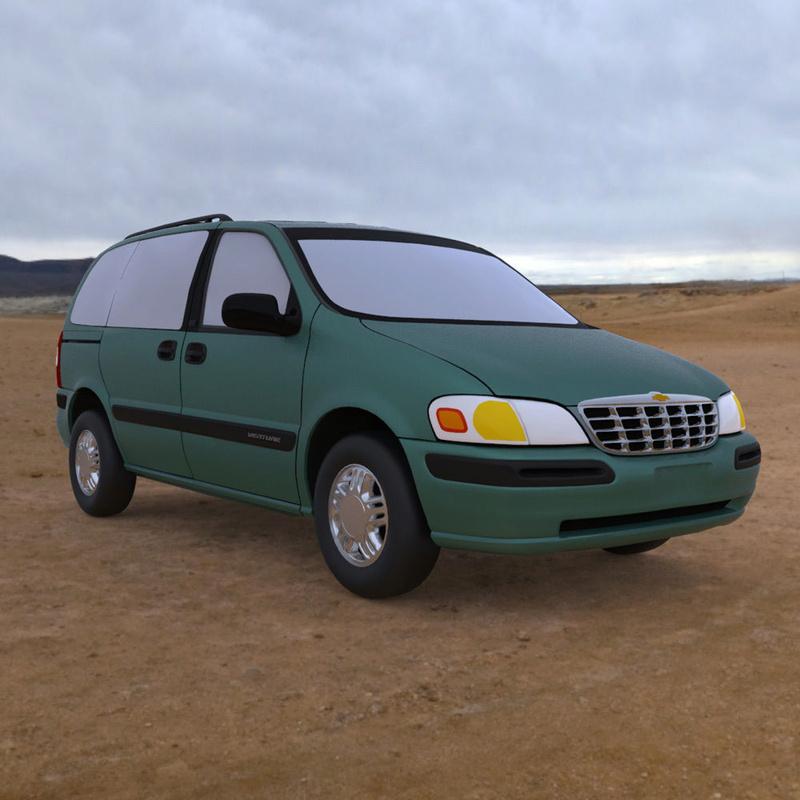 Chevrolet Lumina / Venture en 3D 1998-c12