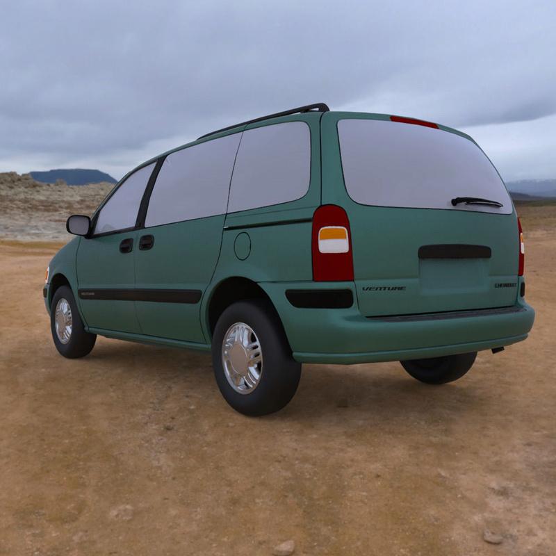 Chevrolet Lumina / Venture en 3D 1998-c13