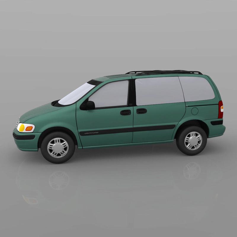 Chevrolet Lumina / Venture en 3D 1998-c14