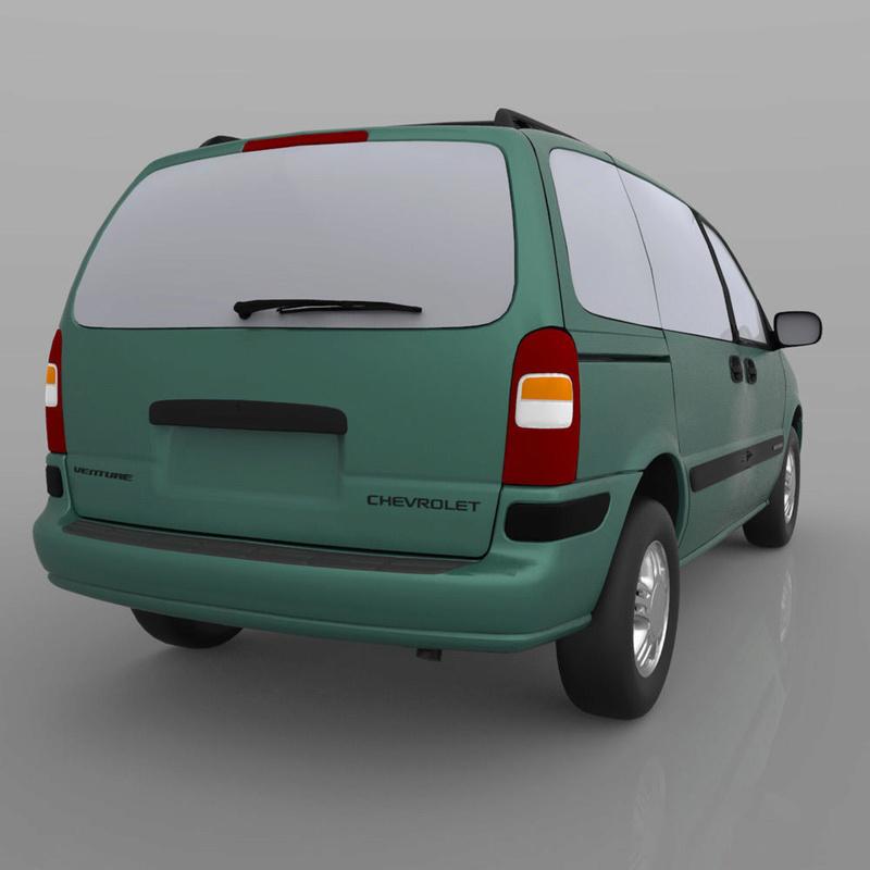 Chevrolet Lumina / Venture en 3D 1998-c17
