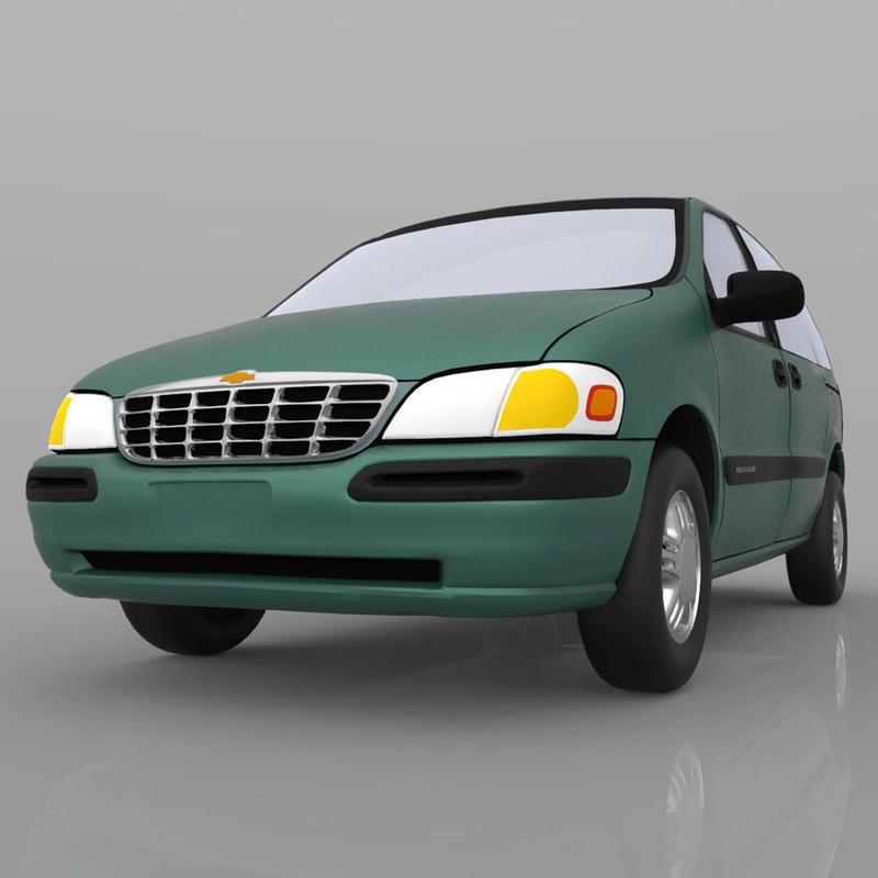 Chevrolet Lumina / Venture en 3D 1998-c19