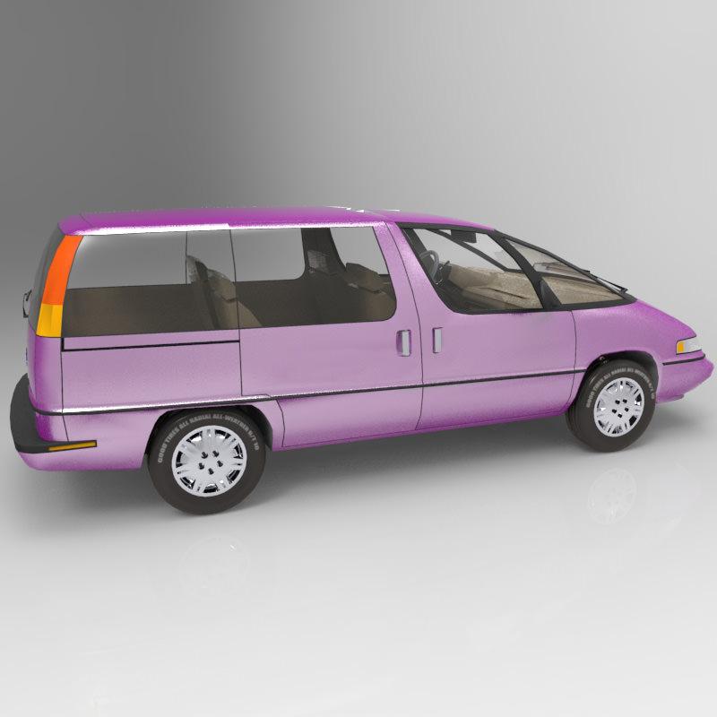Pontiac Trans Sport en réalisation 3D Family15