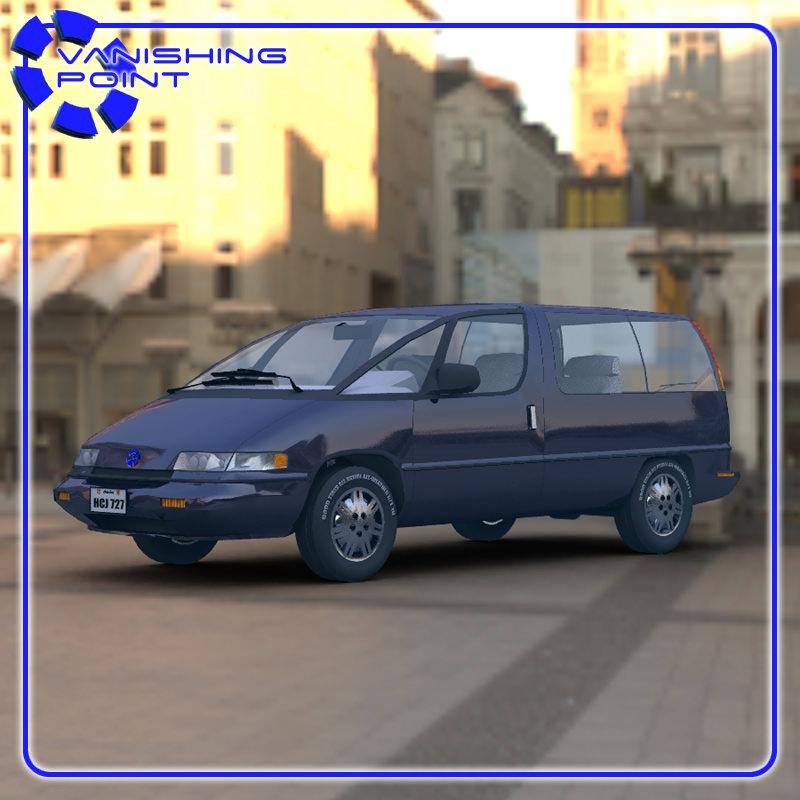Pontiac Trans Sport en réalisation 3D Family17